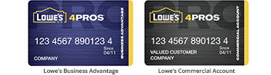 manage your account online just log in to get started - Lowes Business Card